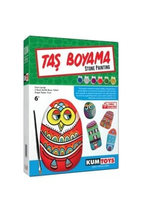Kumtoys Taş Boyama + Kuş Evi (2'li Set) 3