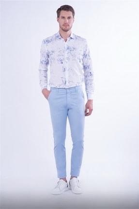 Efor Slim Fit Mavi Spor Pantolon 2