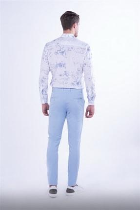 Efor Slim Fit Mavi Spor Pantolon 3