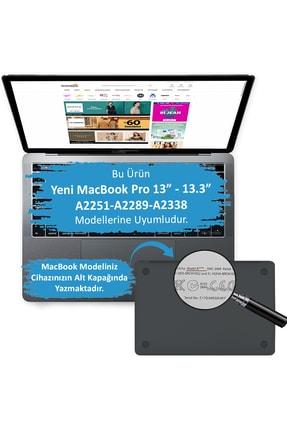 Mcstorey Macbook Pro Kılıf 13inc Hardcase Touch Bar A1706 A1708 A1989 A2159 A2251 A2289 A2338 Uyumlu Kılıf 1