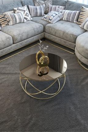 Pukka Sehpa Gezegen Orta Sehpa Gold Ayak, Bronz Ayna 1