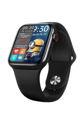 X-GEAR Smartwatch Hw16 Premium Siyah Türkçe Akıllı Saat Hd Ips Tam Ekran Akıcı Arayüz Suya Dayanıklı 0
