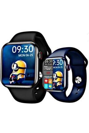 X-GEAR Smartwatch Hw16 Premium Siyah Türkçe Akıllı Saat Hd Ips Tam Ekran Akıcı Arayüz Suya Dayanıklı 1