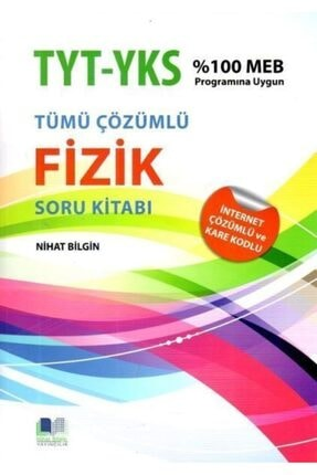 Nihat Bilgin Yayınları Nihat Bilgin Tyt Ayt Tümü Çözümlü Fizik Soru Kitabı 0