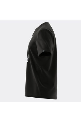 adidas Erkek Siyah M Extmo Slgn T T-Shirt 2