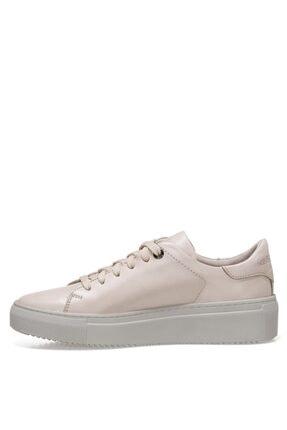 Nine West POFEDA 1FX Gri Kadın Havuz Taban Sneaker 101031049 3