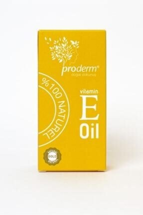 PRODERM Vitamin E Oıl-vitamin E Cilt Bakım Yağı 1