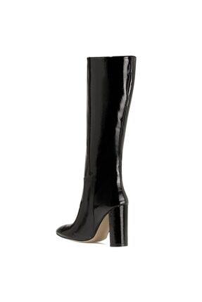 Nine West MIMA Siyah Kadın Ökçeli Çizme 100582033 2