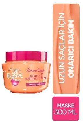 Elseve Dream Long Uzun Saç Kurtarıcı Saç Maskesi 300 ml 0