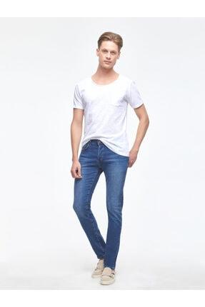 Ltb Erkek  Beyaz  Kısa Kol Geniş Yaka T-Shirt 012208450660890000 2