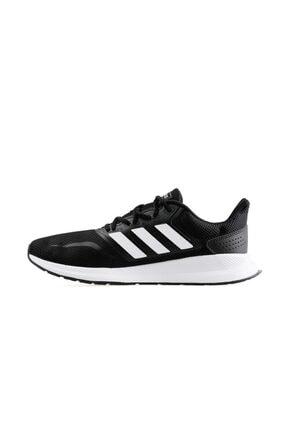 adidas RUNFALCON Siyah Erkek Koşu Ayakkabısı 100403379 1