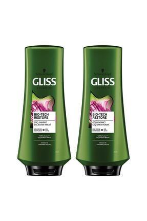 Gliss Bio-tech Güçlendirici Saç Kremi 360 ml 2'li 0