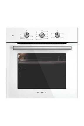 Luxell 2'li Ankastre Set (b66 Kristal Beyaz Fırın- Lx-40 Tahdf Beyaz Ocak) 1