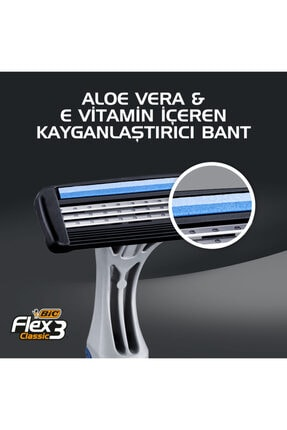 Bic Flex 3 Tıraş Bıçağı 4 2'li 2