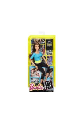 Barbie Kumral Sonsuz Hareket Bebeği 2