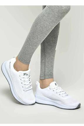 Lumberjack Connect Wmn 1fx Beyaz Kadın Koşu Ayakkabısı 1