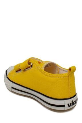 Vicco 925.p20y150 Patik Işıklı Keten Sarı Çocuk Spor Ayakkabı 4