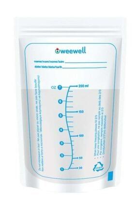 Weewell Süt Saklama Poşeti 25'li 0