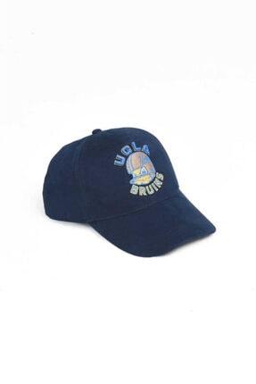 Ucla Anselmo Lacivert Baseball Cap Nakışlı Şapka 2