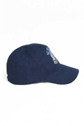 Ucla Anselmo Lacivert Baseball Cap Nakışlı Şapka 3