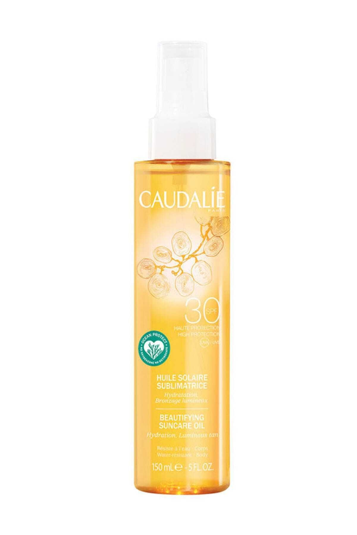 Caudalıe Soleil Divin Beautifying Suncare Oil Spf30 150 ml