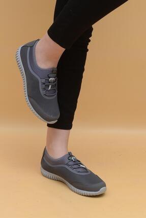 Evarmis Kadın Gri Günlük Spor Ayakkabı 1042 2