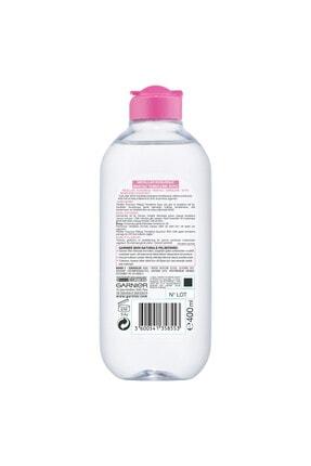 Garnier 2'li Micellar Kusursuz Makyaj Temizleme Suyu 400 ml + Pamuk Hediye 3