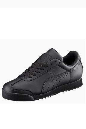 Puma Roma Unisex Siyah Günlük Spor Ayakkabı 0
