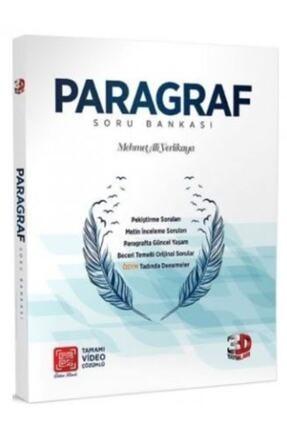 A Yayınları 2020-2021 3d Yayınları Paragraf Soru Bankası 0