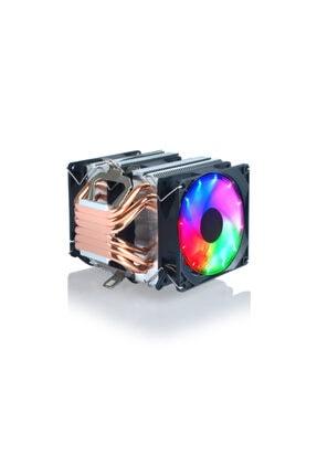 Snowman X6 Cpu Soğutucu Fan Rainbow 1