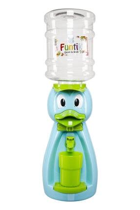 Funtik Toys Mavi Ördek Çocuk Su Sebili 0