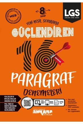 Ankara Yayıncılık 8. Sınıf Paragraf Güçlendiren Denemeleri 0