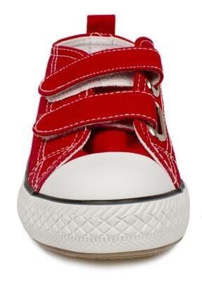 Vicco 925.p20y150 Patik Işıklı Keten Kırmızı Çocuk Spor Ayakkabı 3