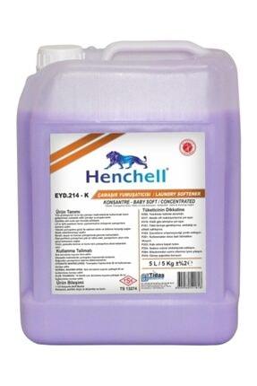 Henchell Konsantre Baby Soft Çamaşır Yumuşatıcısı 5 l 0