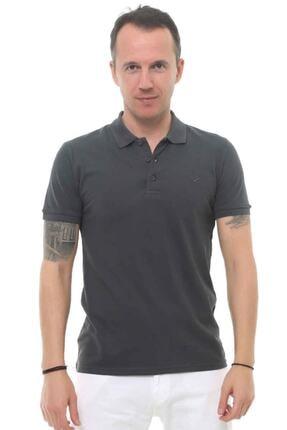 Cazador Erkek Gri Polo Yaka T-shirt 4613 0