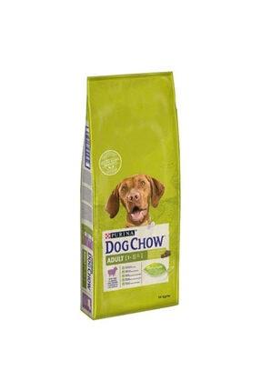 Dog Chow Kuzulu Ve Pirinçli Yetişkin Kuru Köpek Maması 14 kg 0