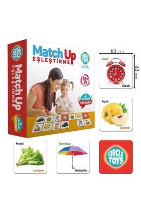 Circle Toys Circle Toys Match Up Eşleştirme Kartları Eşini Bul 140 Kart 0