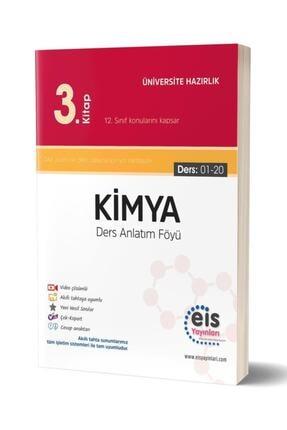 Eis Yayınları Eis Yks Ayt Daf Kimya 3. Kitap Ders Anlatım Föyü 12. Sınıf Konuları (Ders 01-20) 0