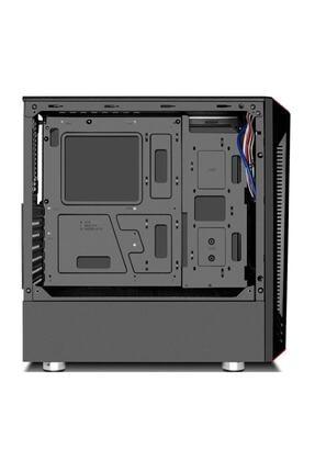 GAMETECH Redlıne Mesh 4x120mm Rainbow Fanlı Pro Gaming Oyuncu Bilgisayar Kasası (PSU YOK) 1