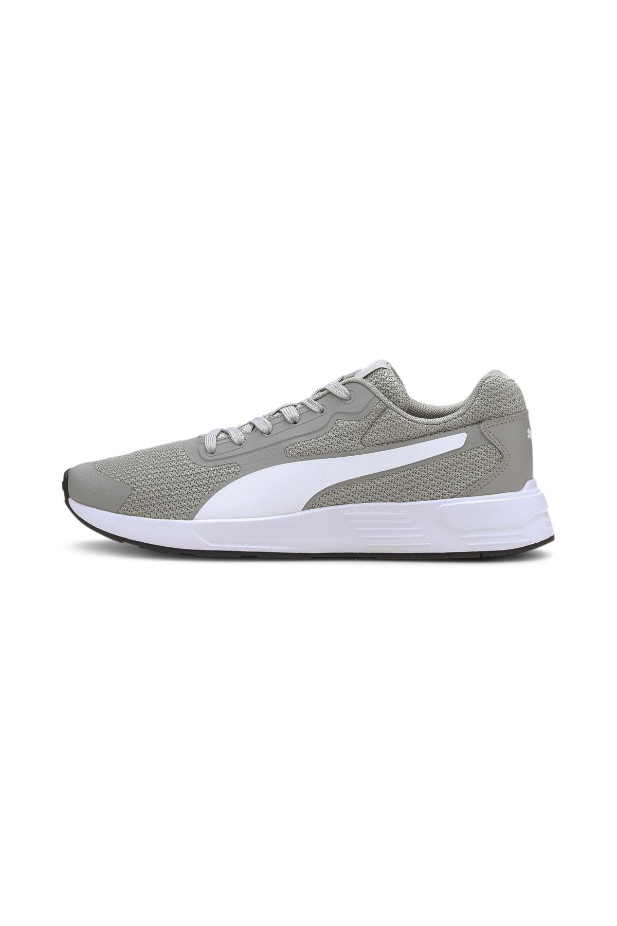 Puma TAPER Gri Erkek Koşu Ayakkabısı 100656439 0