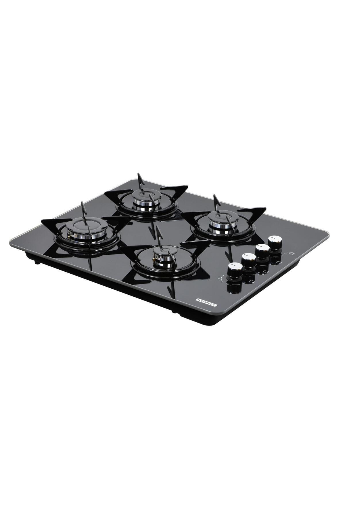 KUMTEL Ko-40 Tshdf Siyah Oval Set Üstü Cam Ocak ( 8mm )