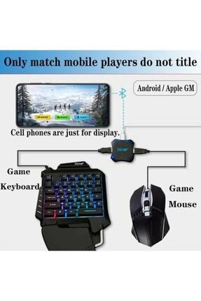 Gate Pubg Oyun Konsolu 3in1-klavye Mouse Bağlayıcı Pubg Firma Anlaşmalı Süper Kontrol 3
