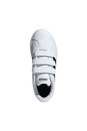 adidas Vl Court 2.0 Cmf Beyaz Unisex Çocuk Sneaker 4