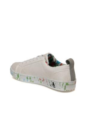 Lumberjack VELLA 9FX Beyaz Kadın Sneaker Ayakkabı 100435863 2