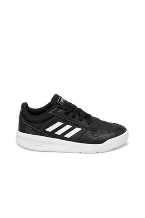 adidas Tensaur Siyah Erkek Çocuk Koşu Ayakkabısı 1