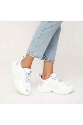 Butigo 19sf-1501-19k Beyaz Kadın Sneaker Ayakkabı 1