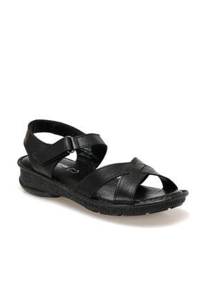 Polaris 103089.Z Siyah Kadın Sandalet 100509757 0
