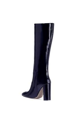 Nine West MIMA Lacivert Kadın Ökçeli Çizme 100582032 2