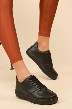 Nmoda Unisex Siyah Spor Ayakkabı Sneakers 2