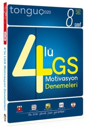 Tonguç Akademi 8. Sınıf Lgs 4lü Motivasyon Denemeleri 0